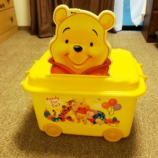 ディズニー(Disney)のプーさん 収納ボックス おもちゃ箱(収納/チェスト)