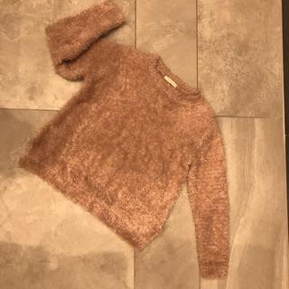 ショコラフィネローブ(chocol raffine robe)のショコラフィネローブ  シャギー  セーター  ニット  春 色(ニット/セーター)