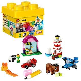 ★大人気商品★ LEGOクラシック 黄色のアイデアボックス ベーシック(知育玩具)
