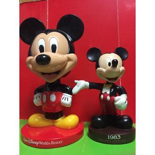 Disney - ディズニー ミ ッキー マウス 首振り人形 /ボビングヘッドフィギュア