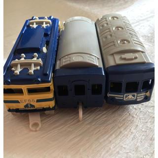 トミー(TOMMY)のプラレール 寝台特急 ブルートレイ 昭和レトロ ジャンク品  (電車のおもちゃ/車)