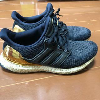 アディダス(adidas)のadidas 25.5cm アディダス ウルトラブースト リミテッド  ゴールド(スニーカー)