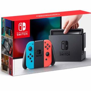 新品 Nintendo switch ネオン 5台 印無し ニンテンドースイッチ