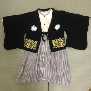 袴 ロンパース 80(和服/着物)