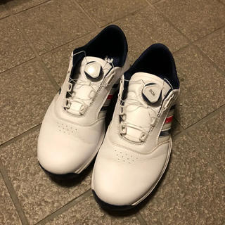 アディダス(adidas)のadidas ゴルフシューズ 白(シューズ)