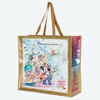 Disney - 新品☆ グランドフィナーレ 35周年 ディズニー ショッピングバッグ ショッパー
