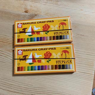 サクラ(SACRA)のサクラ クレパス 16 2箱(クレヨン/パステル )