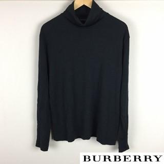 バーバリーブラックレーベル(BURBERRY BLACK LABEL)の美品 BURBERRY BLACK LABEL 長袖タートルネックニット(ニット/セーター)