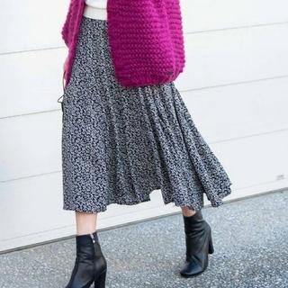 アントマリーズ(Aunt Marie's)のAunt Marie's FLOWER マーメイドラインスカート(ひざ丈スカート)