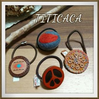 チチカカ(titicaca)の【新品未使用】チチカカ♥エスニック ヘアゴム 4個セット♪(ヘアゴム/シュシュ)