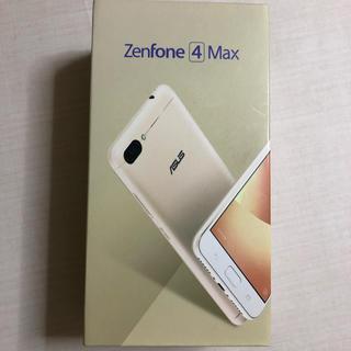 エイスース(ASUS)のゼンフォン4MAX 新品未使用(スマートフォン本体)