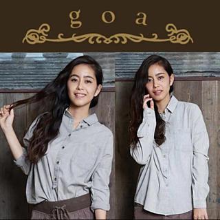 ゴア(goa)のgoa ケミカル加工コットンビックシャツ(シャツ/ブラウス(長袖/七分))