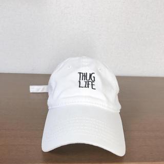 ニューエラー(NEW ERA)のOTTO THUG LIFEキャップ(白)(キャップ)