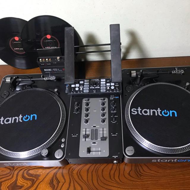 【SCRATCH LIVE 2付属】DJセット 楽器のDJ機器(ターンテーブル)の商品写真
