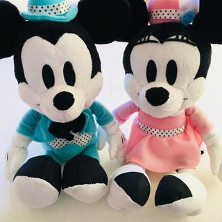 Disney - ミッキー ミニー ぬいぐるみ 一番くじ ラストワン