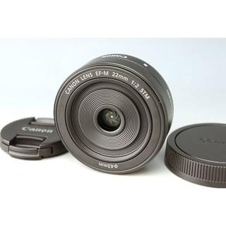 キヤノン(Canon)の★キャノン CANON EF-M 22mm F2 STM★パンケーキ(レンズ(単焦点))