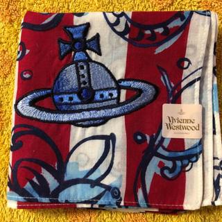 ヴィヴィアンウエストウッド(Vivienne Westwood)のヴィヴィアンウエストウッドハンカチオーヴ刺繍スカル(ハンカチ/ポケットチーフ)