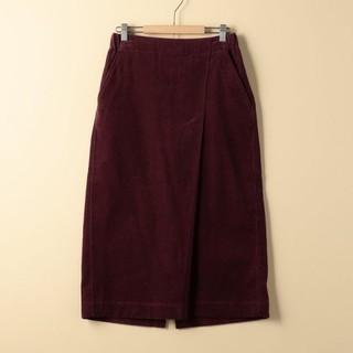 コーエン(coen)の coenコーデュロイスカート(ひざ丈スカート)