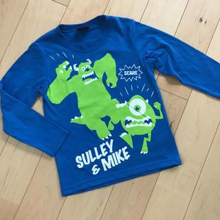 ディズニー(Disney)のディズニー モンスターズインク 長袖 Tシャツ ロンT ブルー 110(Tシャツ/カットソー)