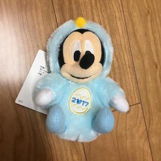 ミッキーマウス - 完売品!ディズニー☆干支☆ぬいぐるみバッジ☆ミッキー☆2017☆とり