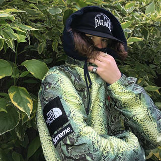 シュプリーム(Supreme)の 定価以下 L Supreme Snakeskin Coaches Jacket(その他)