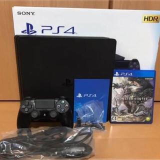 PlayStation4 - Play Station®︎4 ジェット・ブラック500GBモンハンワールド付き