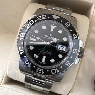 ROLEX - ロレックス  GMTマスター2 黒 116710LN