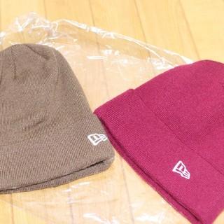ニューエラー(NEW ERA)のニューエラ カフニット帽 二枚セット(キャップ)