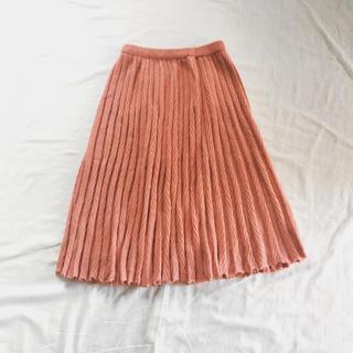 エディットフォールル(EDIT.FOR LULU)のVintage プリーツ ニットスカート(ひざ丈スカート)