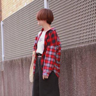 スタディオクリップ(STUDIO CLIP)のstudio CLIP リメイク風オーバーチェックシャツ(シャツ/ブラウス(長袖/七分))