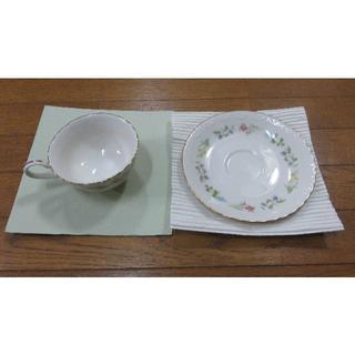 ノリタケ(Noritake)のノリタケ カップ ソーサー ケーキ皿 2脚(食器)