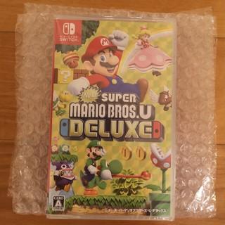 Nintendo Switch - New スーパーマリオブラザーズ U デラックス 新品