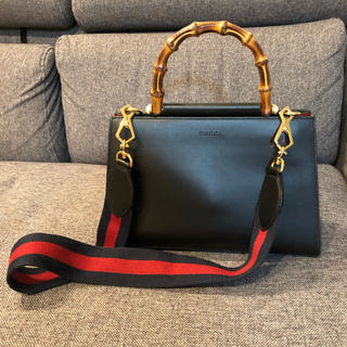 cheap for discount 74a58 df1cb GUCCI レザーハンドバッグ