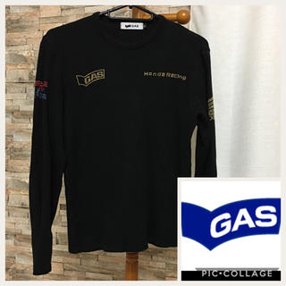 ガス(GAS)のGAS ☆ ゴールド(Tシャツ(長袖/七分))