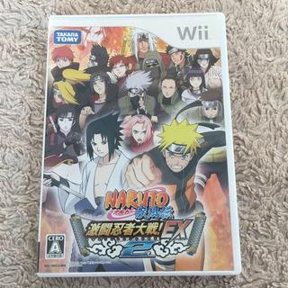 ウィー(Wii)のWii ナルト激闘忍者大戦EX2(家庭用ゲームソフト)