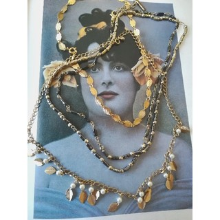 グリモワール(Grimoire)の【vintage】まとめ売り ネックレス ゴールド(ネックレス)