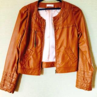 リズリサ(LIZ LISA)のLISLISA ライダースジャケット(ライダースジャケット)