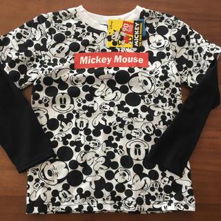 ディズニー(Disney)のディズニー 新品ロンT 130センチ(Tシャツ/カットソー)
