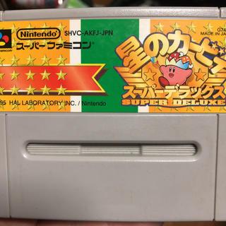 スーパーファミコン(スーパーファミコン)の星のカービィ スーパーデラックス(家庭用ゲームソフト)