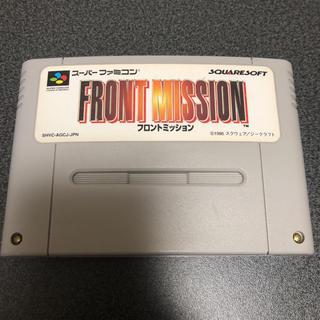 スーパーファミコン(スーパーファミコン)のSFC フロントミッション(家庭用ゲームソフト)