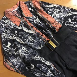 グリモワール(Grimoire)の絵画風 アート ヴィンテージシャツ(シャツ/ブラウス(長袖/七分))