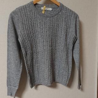 サマンサモスモス(SM2)のSM2 ケーブル柄セーター(ニット/セーター)