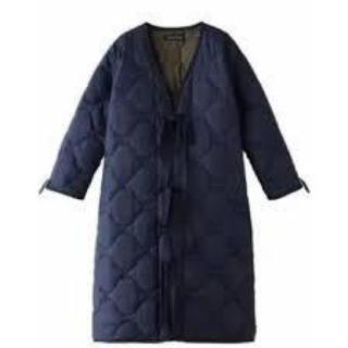 マディソンブルー(MADISONBLUE)のマディソンブルー キルティングコート ネイビー サイズ1(ロングコート)