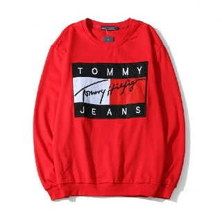 TOMMY HILFIGER - TOMMY JEANS トレーナー 裏起毛