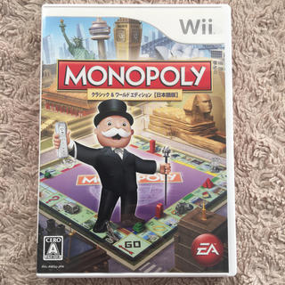 ウィー(Wii)のWii モノポリー(家庭用ゲームソフト)