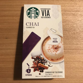 スターバックスコーヒー(Starbucks Coffee)のスタバ VIA チャイ Starbucks (茶)