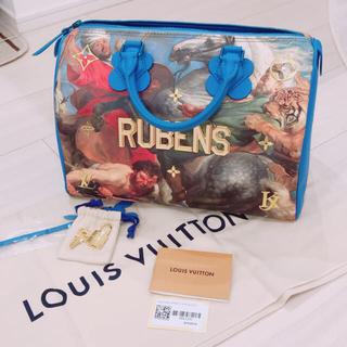 ルイヴィトン(LOUIS VUITTON)のルイヴィトン ルーベンス スピーディ マスターズ(ハンドバッグ)