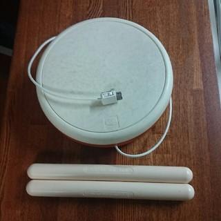 ウィー(Wii)のWii 太鼓の達人の太鼓とバチ(家庭用ゲームソフト)