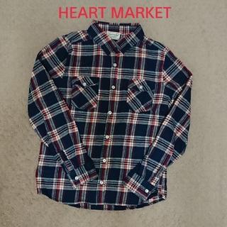 ハートマーケット(Heart Market)のHEART MARKET チェックシャツ ネルシャツ(シャツ/ブラウス(長袖/七分))