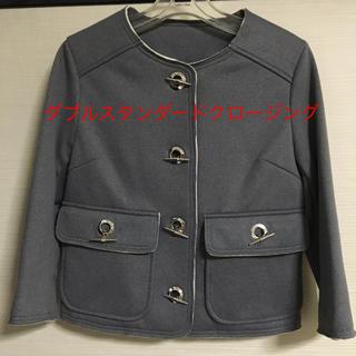 ダブルスタンダードクロージング(DOUBLE STANDARD CLOTHING)のダブルスタンダードクロージング(ノーカラージャケット)